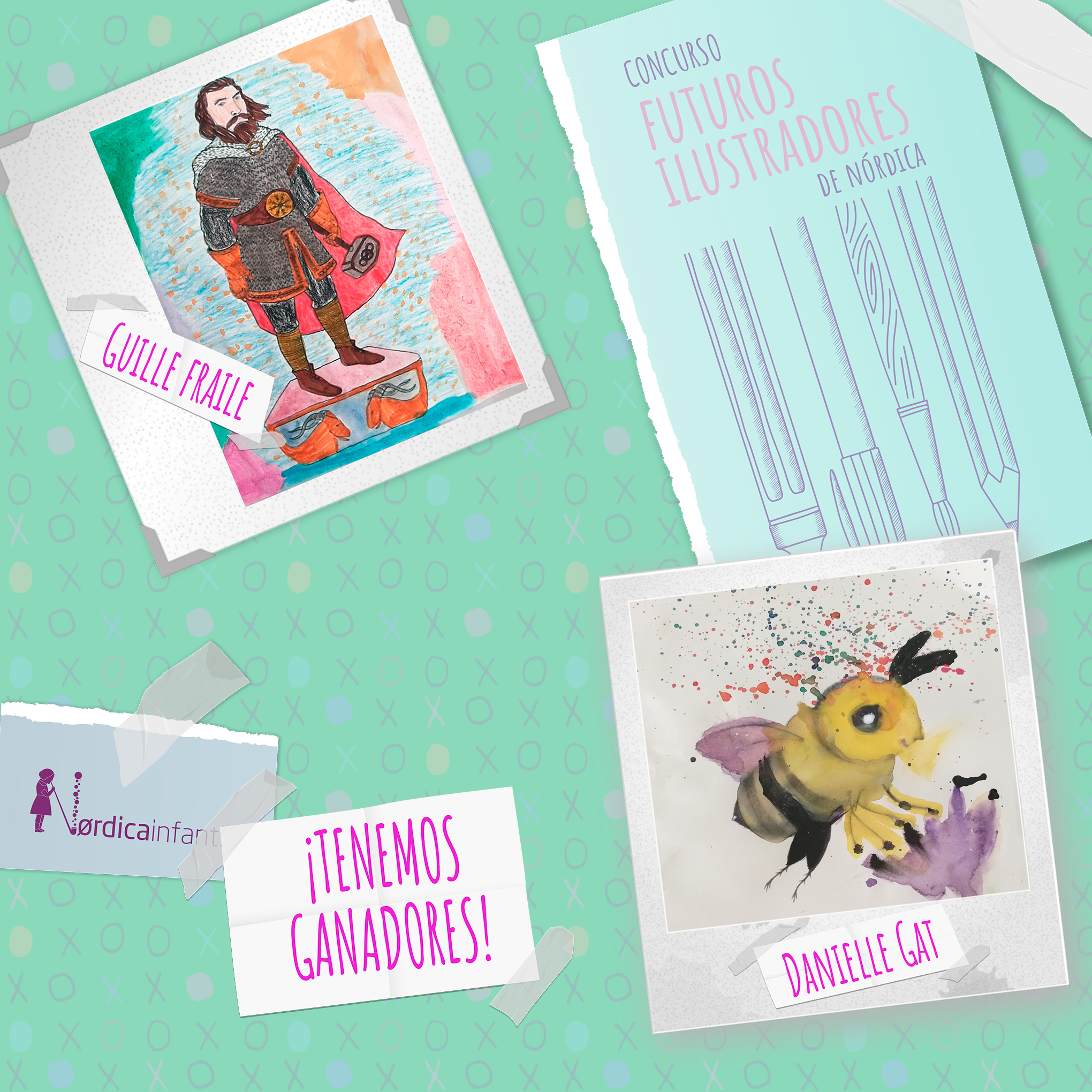Futuros ilustradores Nórdica Infantil: ¡El fallo del concurso!